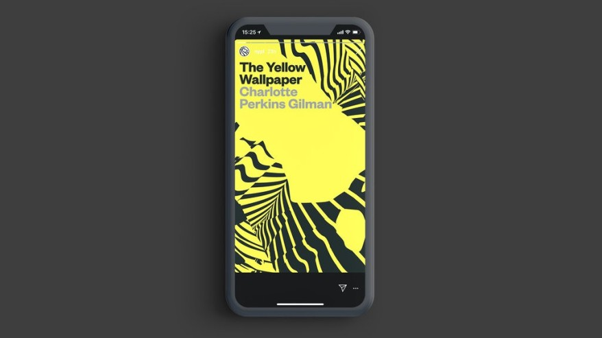 """The Yellow Wallpaper,"" the second installment of Insta Novels from the New York Public Library. Photo: Mother in New York"