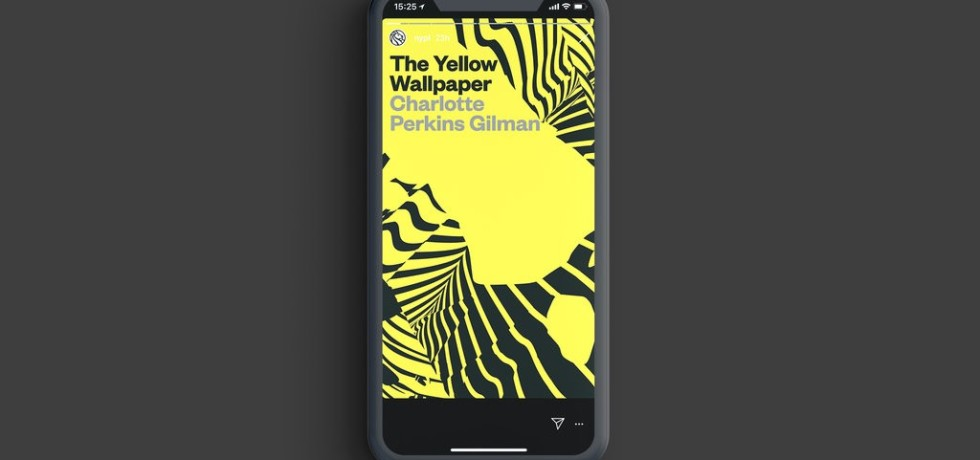 """""""The Yellow Wallpaper,"""" the second installment of Insta Novels from the New York Public Library. Photo: Mother in New York"""