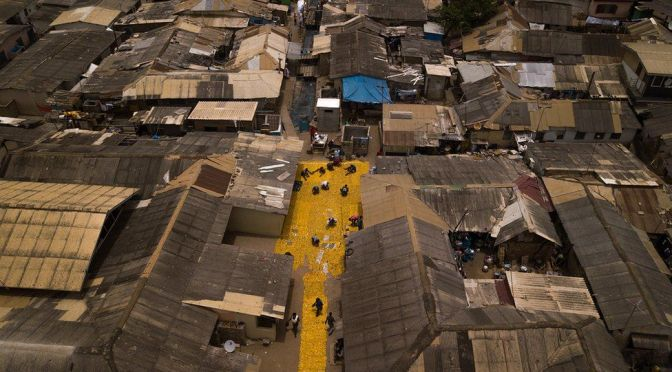PHOTOS: Ghana's 'yellow-brick road'