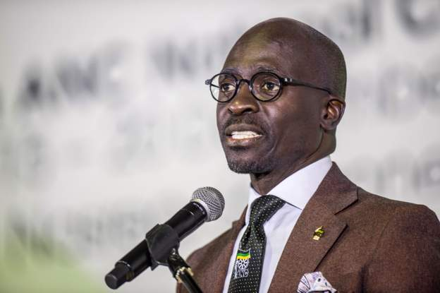 Malusi Gigaba was finance minister when he alleges he was blackmailed over the tape