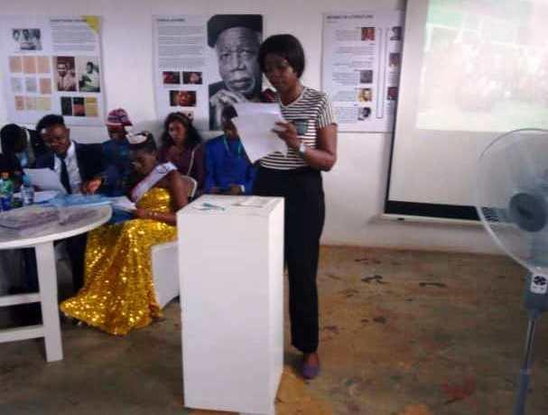 Bloomgist Ogbonna Jill at Enugu Readers Summit 2018