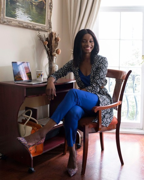 Chioma Onwutalobi, editor of Glam Africa, left Nigeria at 17 and leads the publication from its office in the fashionable London neighborhood of Shoreditch.