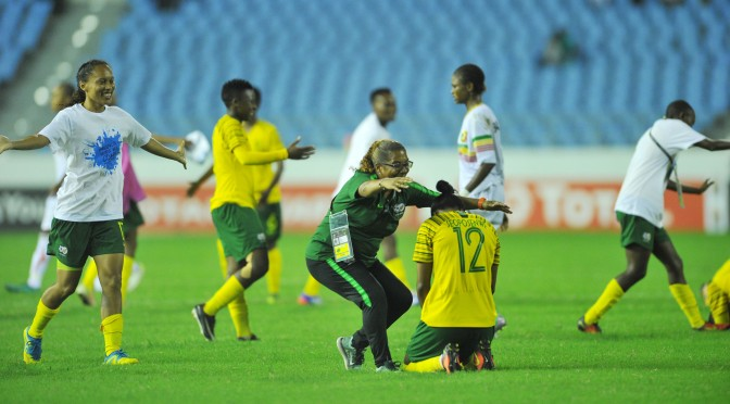 South Africa's women team make history