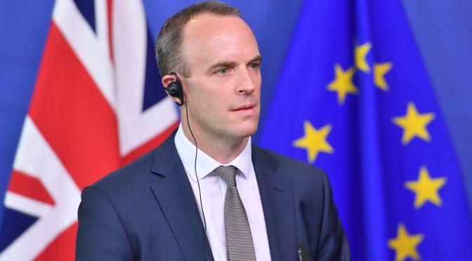 Raab resigns as Britain's Brexit minister