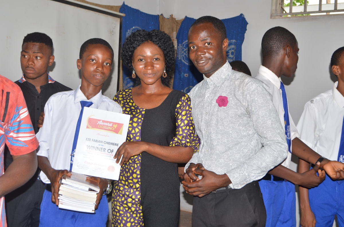 Enugu Readers' Summit 2018 was sparkled with excellence