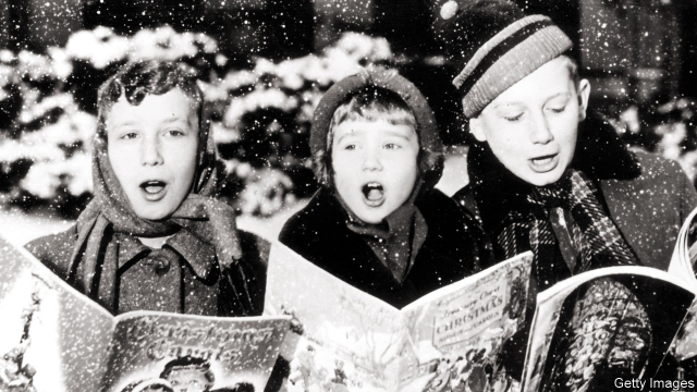 The rise and fall of Christmas music