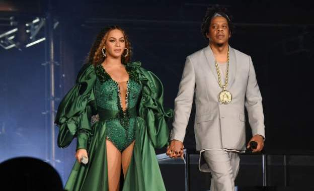 Beyonce and Jay-Z headlined the event in South Africa