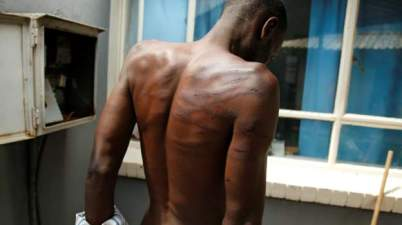 Hundreds of people have been assaulted and tortured