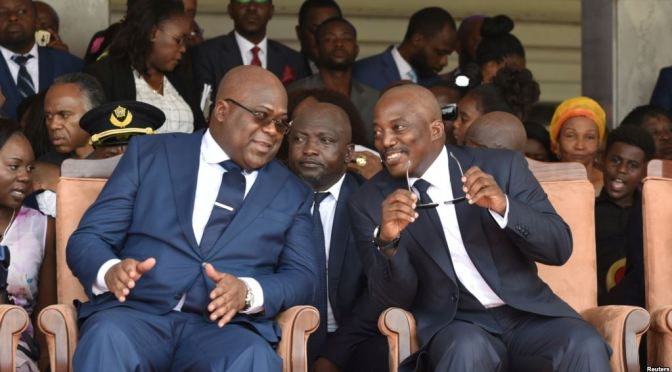 VIDEO: Kabila leaves DR Congo's state house
