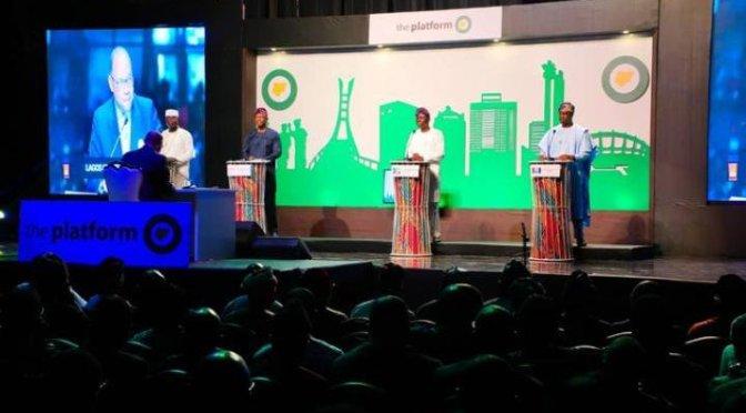 Gbadamosi steals show as Lagos governorship candidates debate