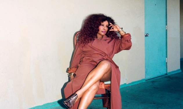 Chaka Khan: at 65, she says she is 'still looking forward to shit'.