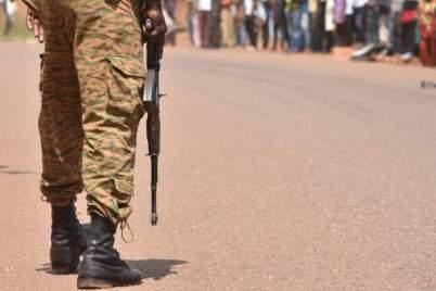 Burkina Faso Soldier