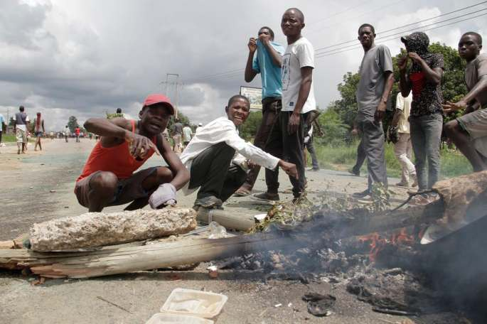 Zimbabwe erupted in violent protest after the government doubled the price of petrol.