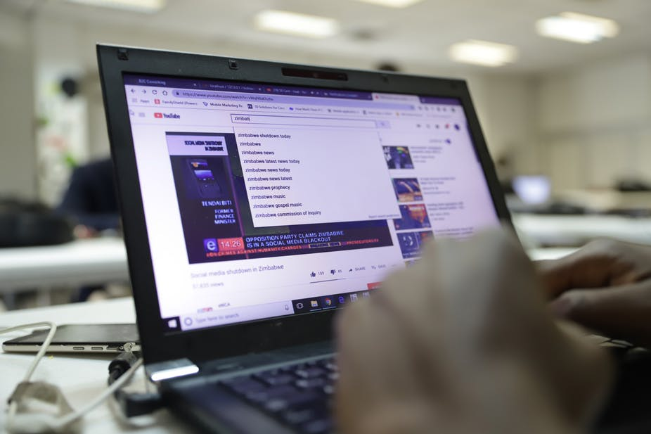 The Zimbabwean government recently shutdown the internet by ordering mobile companies to withhold mobile data.
