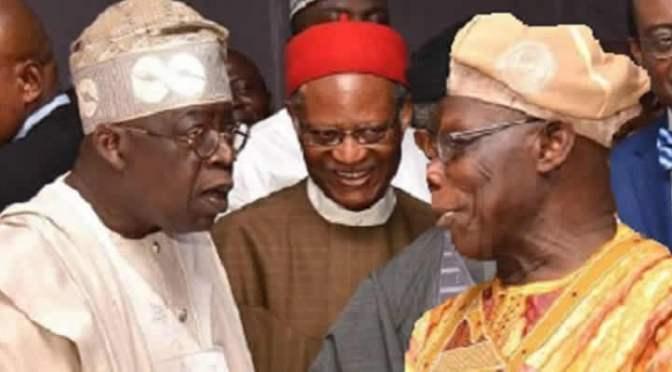 Obasanjo vs Tinubu: 2019 is beyond Buhari and Atiku