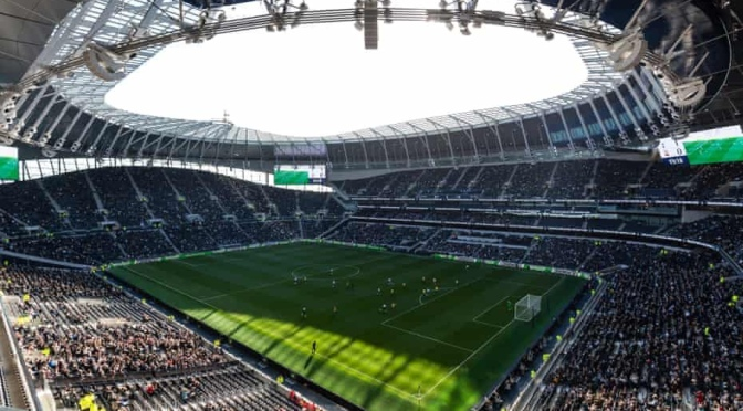 Tottenham's new stadium: as magnificent as they say, it's a home victory for Spurs
