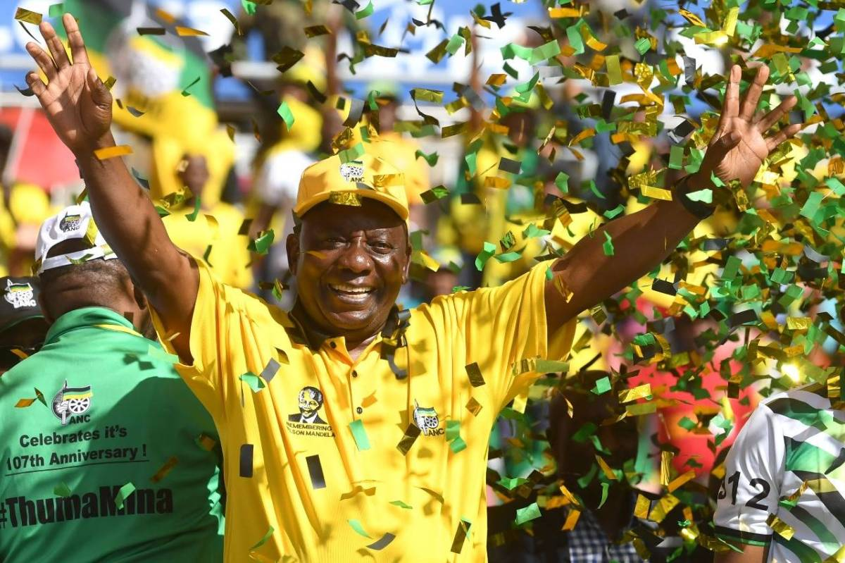 Ramaphosa wins fo ANC, maybe for the last time