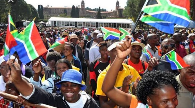 Race still overshadow South African politics 25 years after end of  apartheid