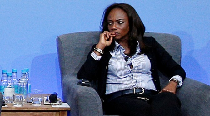 Isha Johansen is in charge, according to FIFA, but has a big fight at home