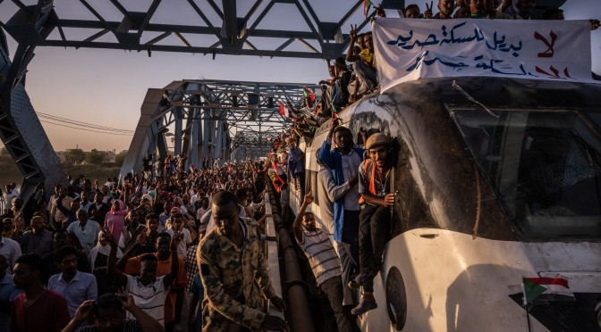 Bullets and Love: finding romance in the midst of sudan protests