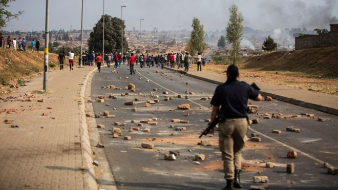 South Africa has been rocked by a wave of unrest and xenophobic violence this month