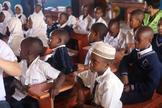 Uganda's English language policy isn't applicable to schools in the the country's rural areas. Shutterstock
