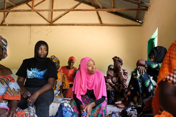 Residents of Sintet, Gambia, at a workshop to discuss kidnappings and torture of people accused of witchcraft — roundups 10 years ago that were ordered by the president.Credit...Julie Turkewitz/The New York Times