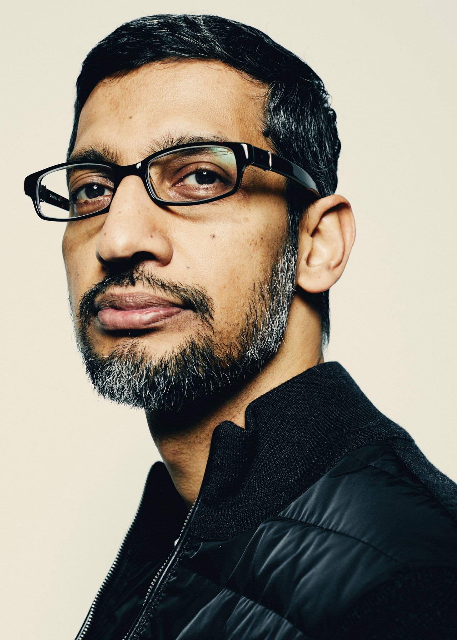 Sundar Pichai, who already runs Google, will replace Mr. Page as Alphabet's chief executive.Credit...Erik Tanner for The New York Times