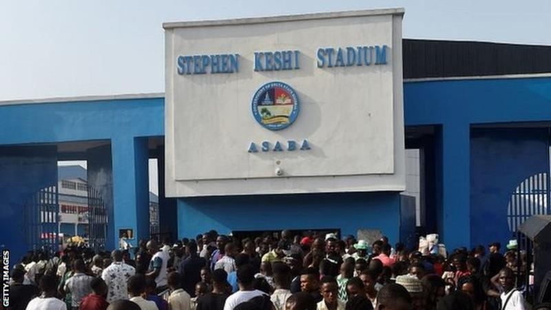 The stadium in Asaba is named after Nigeria's most successful coach, Stephen Keshi.