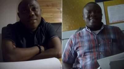 Professor Ransford Gyampo (L) and Dr Paul Kwame Butakor deny wrongdoing