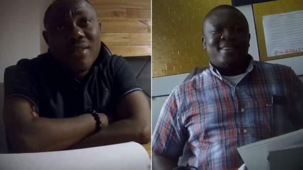 Professor Ransford Gyampo (L) and Dr Paul Kwame Butakor deny wrongdoing