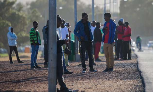 The pain of being out of work is hard to bear for many South Africans. Nic Bothma/EPA