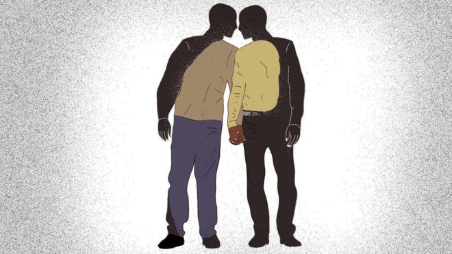 Many African countries still enforce strict laws governing homosexuality. GEORGE WAFULA/BBC