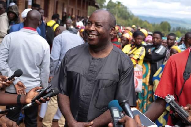 Evariste Ndayishimiye was a rebel leader alongside Pierre Nkurunziza