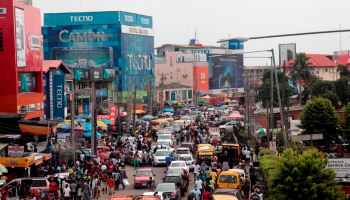 Lagos State plans to embark on mass planting of trees Adekunle Ajayi/NurPhoto via Getty Images