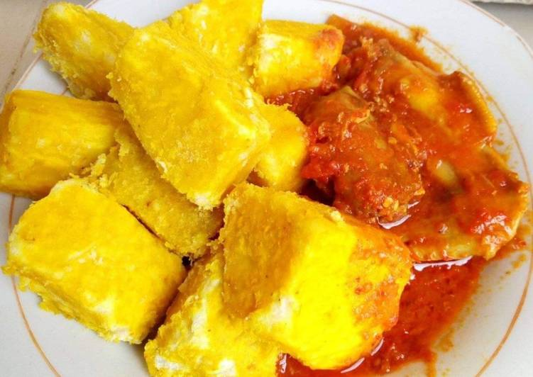 Yam and Palm oil